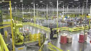 Роботы на складах Amazon