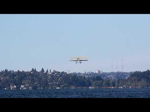 World Cruiser-First Water Takeoff & Landing