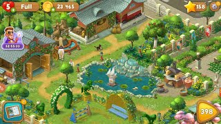 All Gardens completed😍. Full game tour. Playrix Gardenscape…