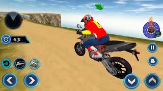 US Motorcycle Parking Off Road Driving Games Android Gameplay