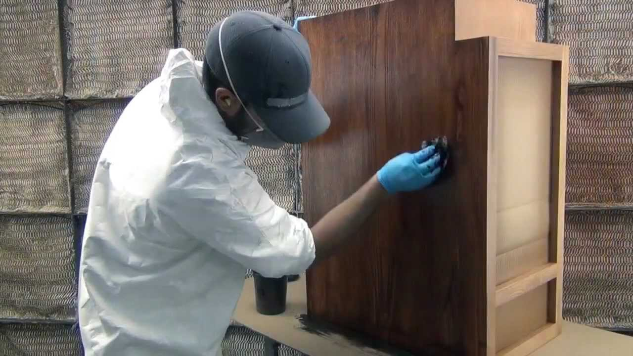 Staining Cabinets And Cabinet Doors Decore Youtube