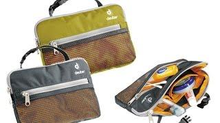 Косметичка Deuter Wash Bag Lite для похода Обзор(Компактная походная косметичка Deuter Wash Bag Lite. Минимальный размер, только для самых необходимых вещей размест..., 2016-02-28T12:10:49.000Z)