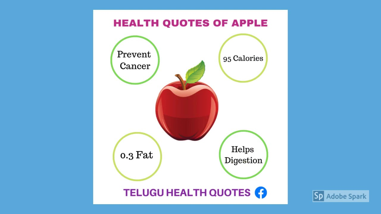 Telugu Health Quotes Youtube