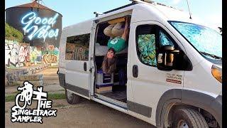 DIY Van Build Hacks for my #vanlife // Singletrack Sampler Van Build Ep. 6