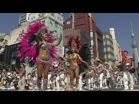Samba in Japan - no comment