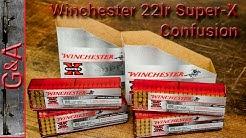 Winchester 22lr 22 Super-X Confusion