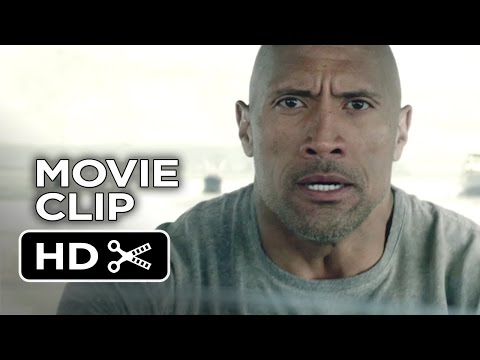 San Andreas Movie CLIP - Before it Crests (2015) - Dwayne Johnson, Carla Gugino Movie HD