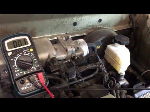 Throttle Position Sensor - Quick Check - Hyundai Elantra