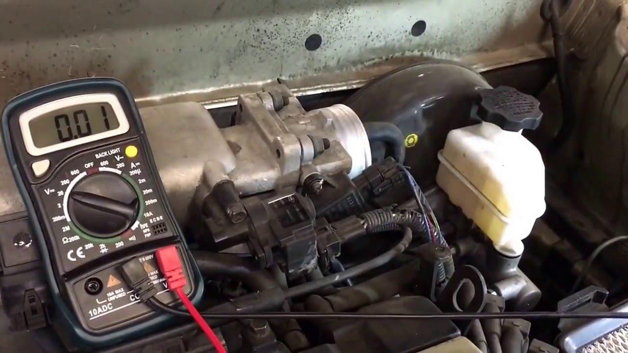 Throttle Position Sensor  Quick Check  Hyundai Elantra