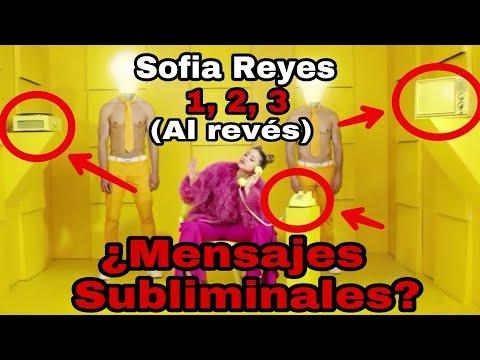 Nunca Debes Escuchar 1 2 3 De Sofia Reyes Al Reves Mensajes Subliminales