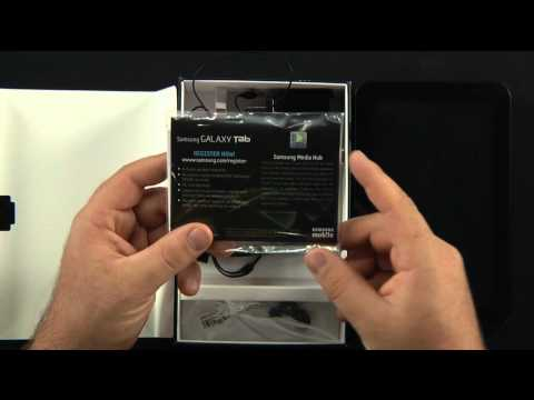 Samsung Galaxy Tab Unboxing (T-Mobile)