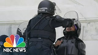 Why Aren't The Police Arresting Capitol Protesters? | NBC News