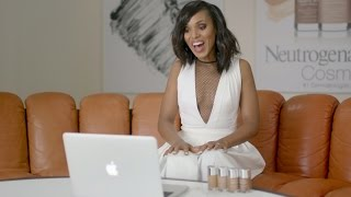 Kerry Washington Talks New Healthy Skin® Liquid Makeup Shades for More Skin Tones | Neutrogena®