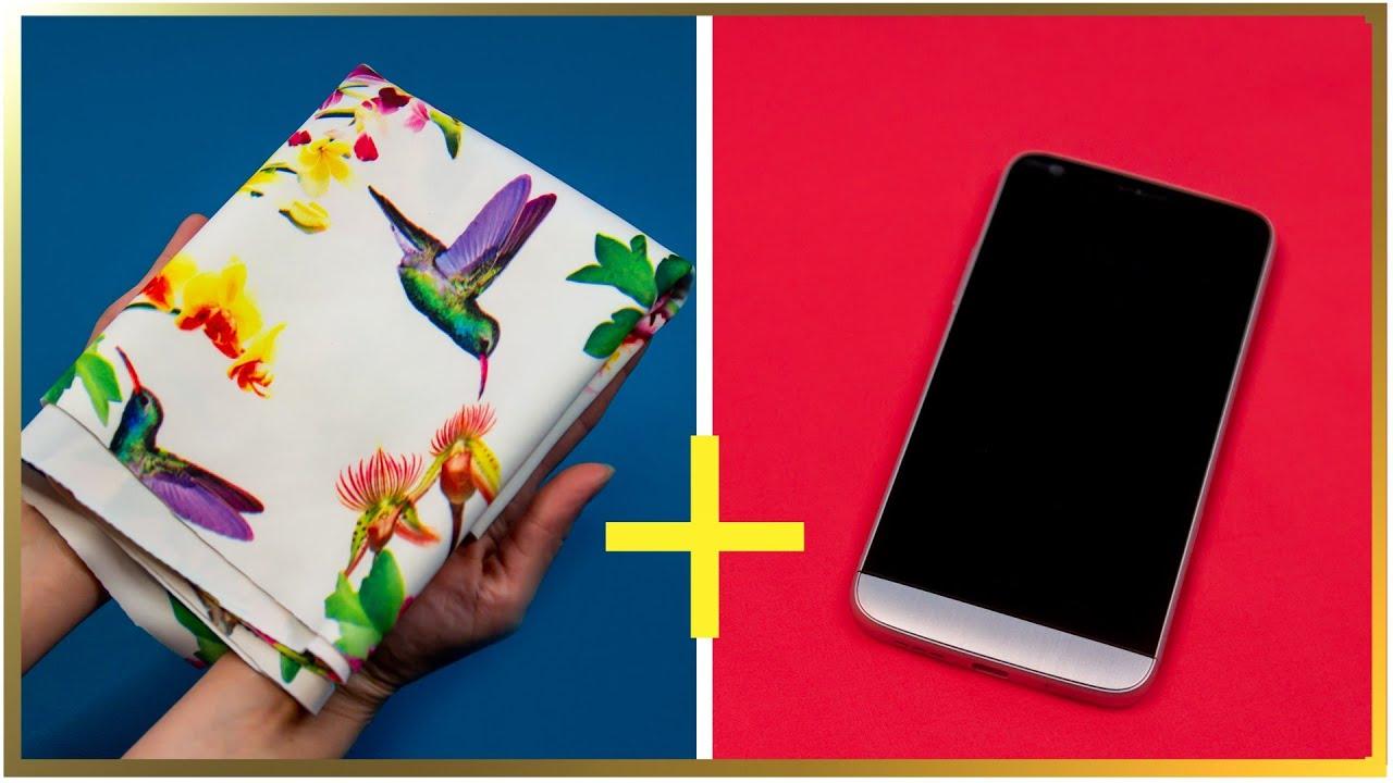 Află ce poți face cu o bucată de stofă și telefonul mobil. | Perfect