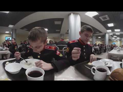 Suvorov Military School 360: Daily life of a Russian army cadet