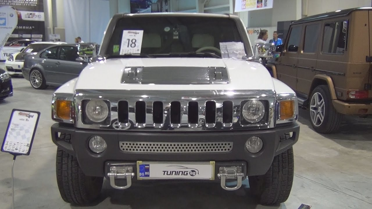 Hummer H3 Tuned Exterior and Interior in 3D - YouTube