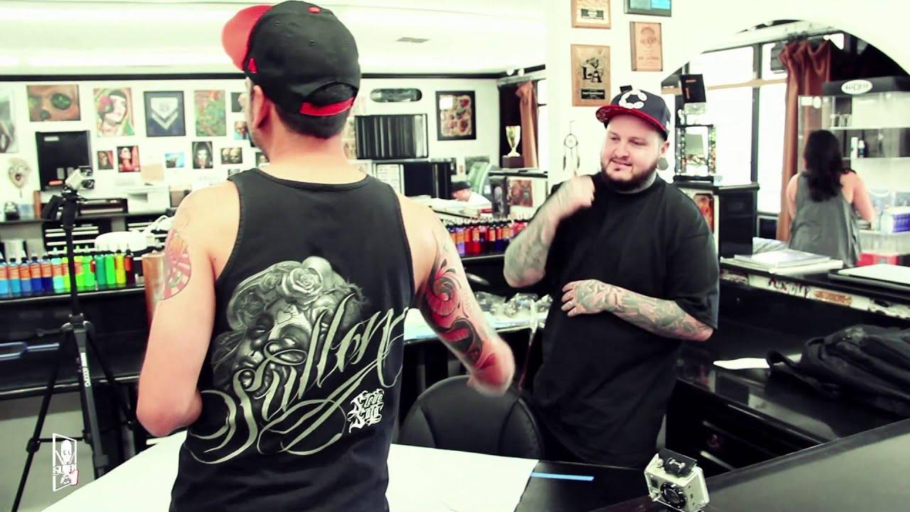 Shop lyfe goodfellas tattoo shop youtube for Tattoo clothing shop