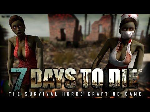 7 Days to Die (Alpha 15) #01 - Выживание на безумной сложности