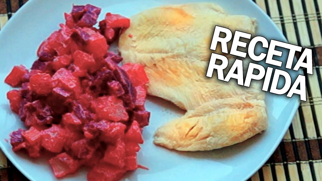 receta de ensalada rusa comida rapida para hacer en casa