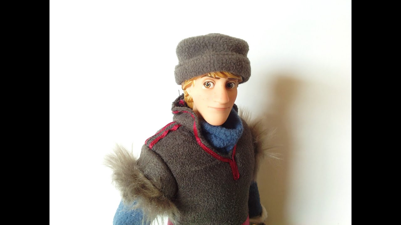 coloring pages frozen kristoff doll - photo#35