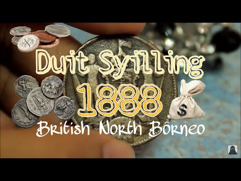 British North Borneo Coin 1888