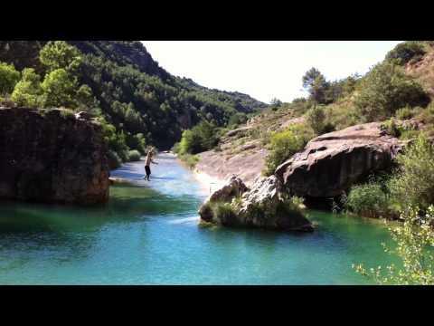 Equilibrismo sobre el rio Alcanadre