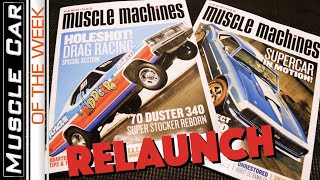 Hemmings Muscle Machines Magazine Relaunch:  Muscle Car Of The Week Episode 273 V8TV