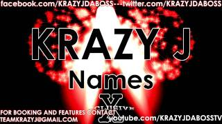 "Krazy J DA Boss ""Best Friend (Nimcy) (Feat. Myckel)"""
