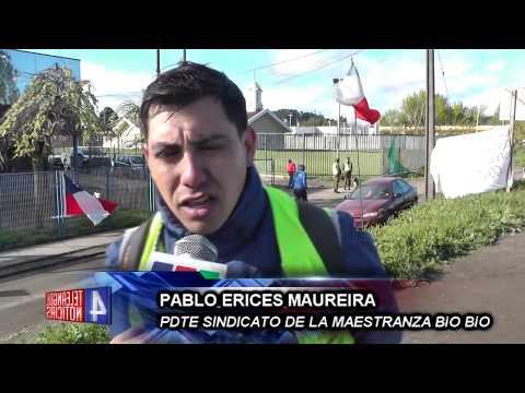 EN HUELGA LEGAL SE ENCUENTRAN LOS TRABAJADORES DE MAESTRANZA BIO BIO