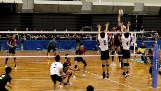 東山 vs 開智 第1セット 近畿大会男子 決勝戦 2019.07.15 【高校男子バレー・近畿】