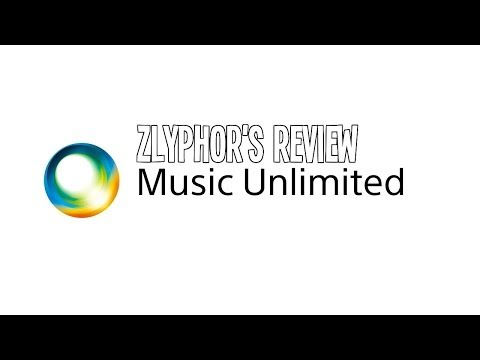 Sony Music Unlimited - Zlyphor's Review (Web/App)
