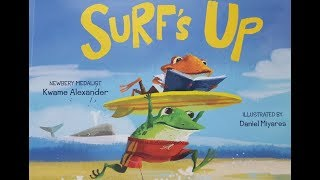 Surf's Up! by Kwame Alexander - Read Aloud