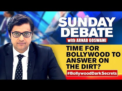 Sushant S Case Puts Spotlight On Bollywood S Secrets Exclusive Sunday Debate With Arnab Goswami Youtube