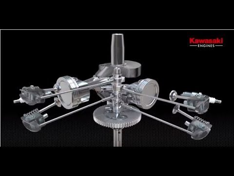 Kawasaki Engines Engineering Excellence