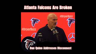At 1-6 Atlanta Falcons Are Broken | Coach Dan Quinn Addresses Disconnect After Lost to Rams