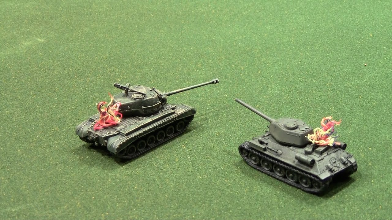 Fire Marker for War Game (Tanks the WWII Skirmish Game)