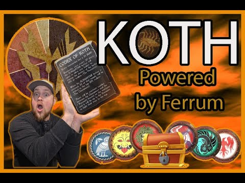 - HUGE Potential - The Deflationary KOTH TOKEN - Ferrum (FRM) Partner - WHITELIST - STAKING 80%