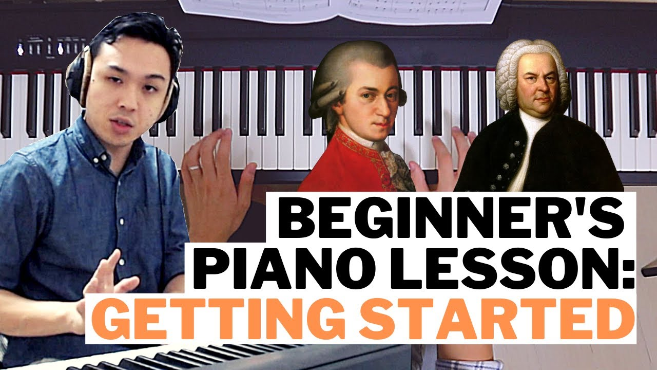 Beginner's Piano Lesson 1: Getting Started - Learn Piano Singapore