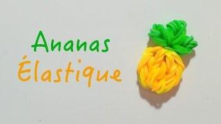 Comment faire un ananas avec des élastiques sans machine