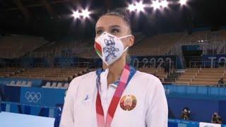 Белорусская гимнастка Алина Горносько завоевала бронзовую медаль на Олимпиаде в Токио