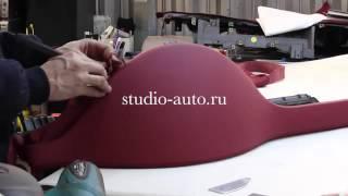 Перетяжка салона кожей 2015(Видео показывает как нужно делать перетяжку салона авто., 2015-12-22T16:30:55.000Z)