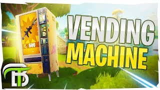 LEGENDARY VENDING MACHINES NOW IN FORTNITE (Fortnite Battle Royale)