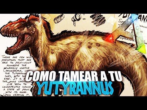 COMO TAMEAR A TU YUTYRANNUS | Guia Español | Ark: Survival Evolved