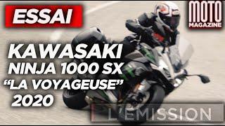 KAWASAKI NINJA 1000 SX 2020 - ESSAI MOTO MAGAZINE