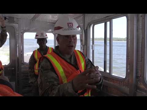 On The Road Again: LTG Semonite At Olmsted Lock And Dam