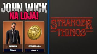 JOHN WICK'S SKIN in the SHOP and STRANGER THINGS MODE COMING up-Fortnite Battle Royale