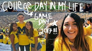 Video COLLEGE DAY IN MY LIFE 2017 // UNIVERSITY OF MICHIGAN (game day) download MP3, 3GP, MP4, WEBM, AVI, FLV Juli 2018