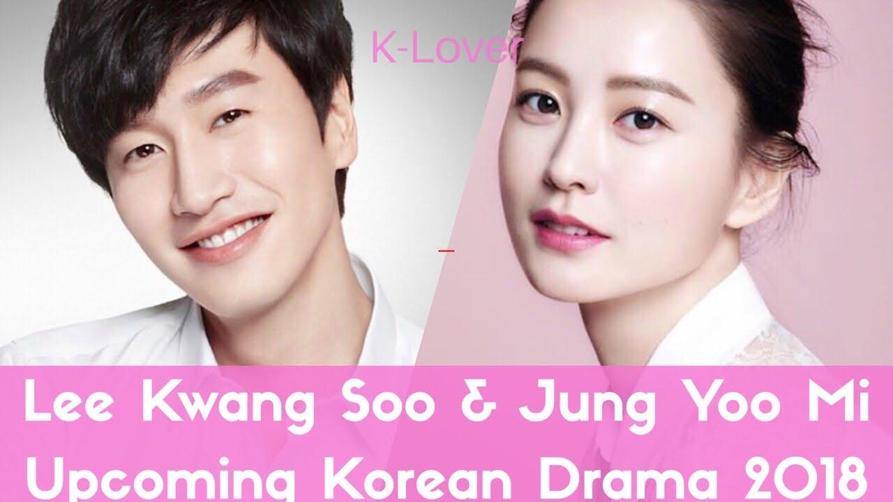 Lee Kwang Soo and Jung Yoo Mi Upcoming New Korean Drama (Live) 2018