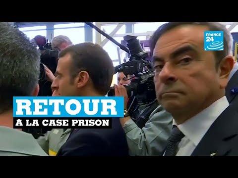 Carlos Ghosn de nouveau arrêté au JAPON