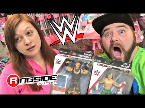 HEEL WIFE TURNS FACE WIFE! NEW WWE TOY HAUL FROM MIND BLOWING KINDNESS!